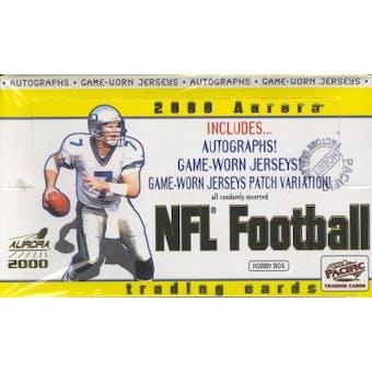 2000 Pacific Aurora Football Hobby Box