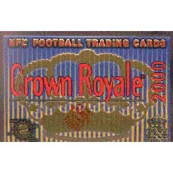 2000 Pacific Crown Royale Football Hobby Box