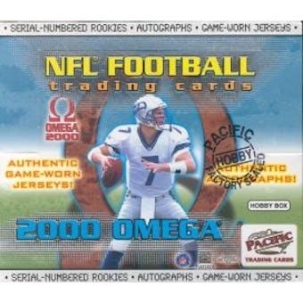 2000 Pacific Omega Football Hobby Box