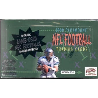 2000 Pacific Paramount Football Hobby Box
