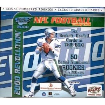 2000 Pacific Revolution Football Hobby Box