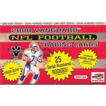 2000 Pacific Vanguard Football Hobby Box