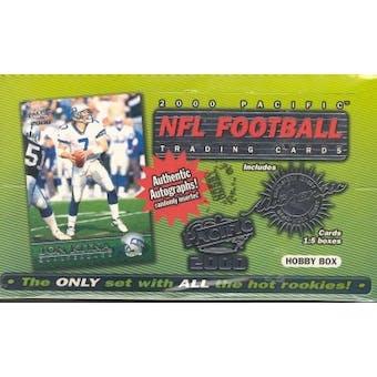 2000 Pacific Football Hobby Box
