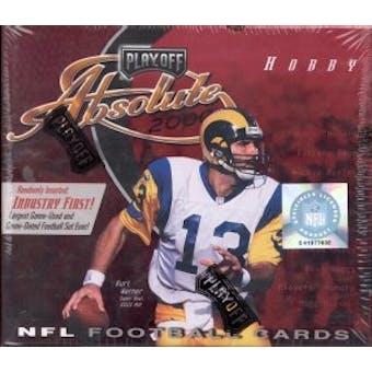 2000 Playoff Absolute Football Hobby Box