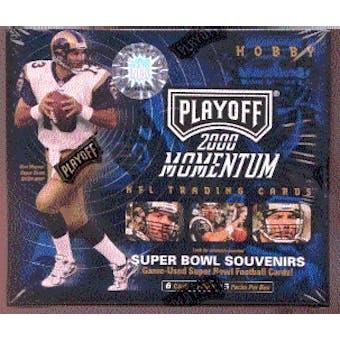 2000 Playoff Momentum Football Hobby Box