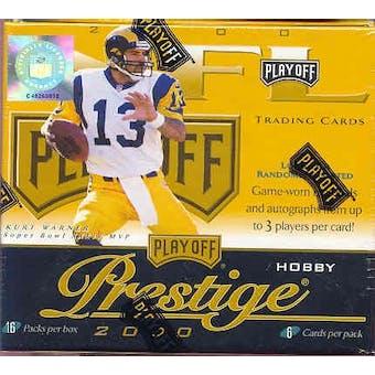 2000 Playoff Prestige Football Hobby Box