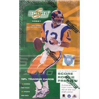 2000 Score Football Hobby Box
