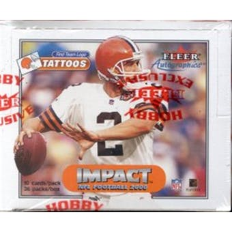2000 Skybox Impact Football Hobby Box