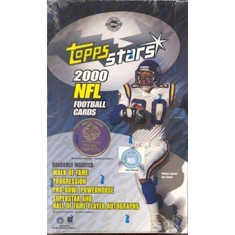 2000 Topps Stars Football Hobby Box
