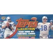 2000 Topps Football Factory Set (Box)