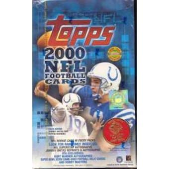 2000 Topps Football Jumbo Box
