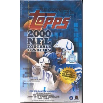 2000 Topps Football Hobby Box