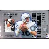 2000 Upper Deck Black Diamond Football Hobby Box