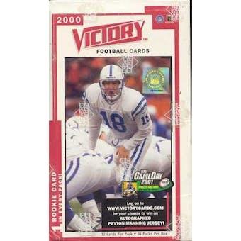 2000 Upper Deck Victory Football Hobby Box
