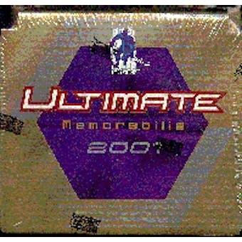 2000/01 Be A Player Ultimate Memorabilia Hockey Hobby Box