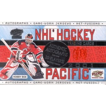 2000/01 Pacific Hockey Hobby Box
