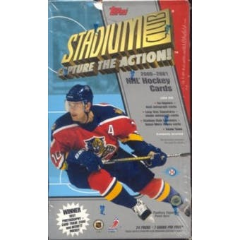 2000/01 Topps Stadium Club Hockey Hobby Box