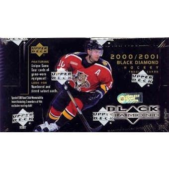 2000/01 Upper Deck Black Diamond Hockey Hobby Box