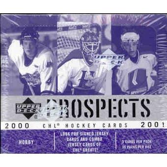 2000/01 Upper Deck CHL Prospects Hockey Hobby Box