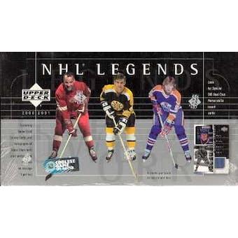 2000/01 Upper Deck Legends Hockey Hobby Box