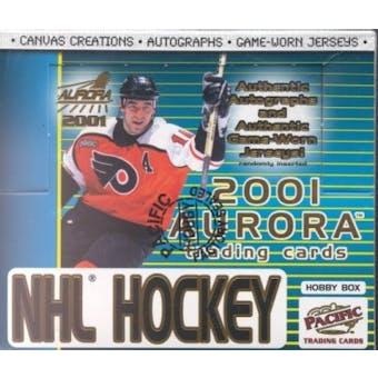 2000/01 Pacific Aurora Hockey Hobby Box