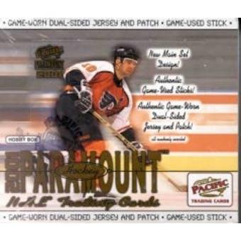 2000/01 Pacific Paramount Hockey Hobby Box
