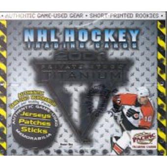 2000/01 Pacific Titanium Hockey Hobby Box
