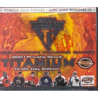 2000/01 Pacific Titanium Draft Day Hockey Hobby Box