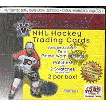 2000/01 Pacific Vanguard Hockey Retail Box