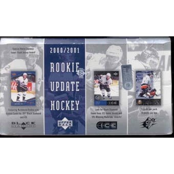 2000/01 Upper Deck Rookie Update Hockey Hobby Box