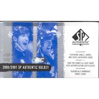 2000/01 Upper Deck SP Authentic Hockey Hobby Box