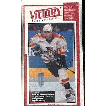 2000/01 Upper Deck Victory Hockey Box