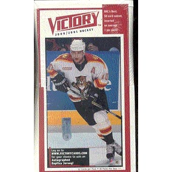 2000/01 Upper Deck Victory Hockey Box