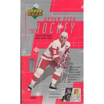 2000/01 Upper Deck Series 2 Hockey Hobby Box