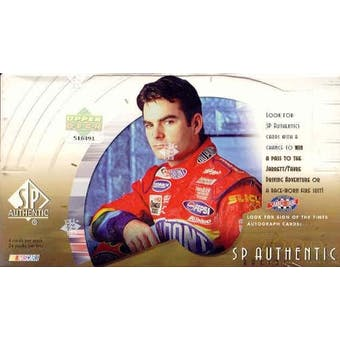2000 Upper Deck SP Authentic Racing Hobby Box