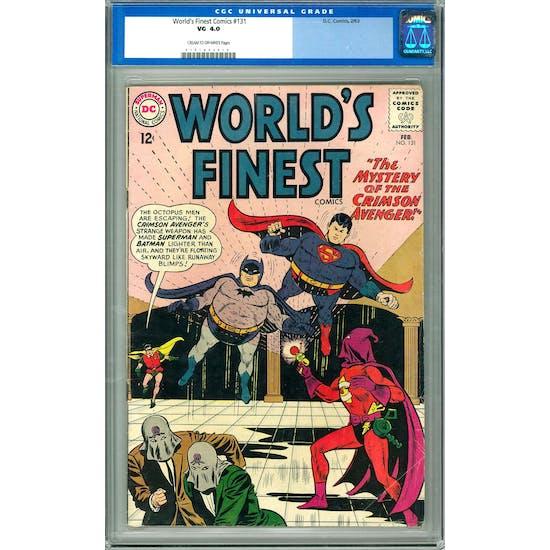 World's Finest Comics #131 CGC 4.0 (C-OW) *0101842019*
