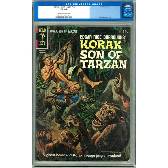 Korak, Son of Tarzan #10 CGC 6.0 (C-OW) *0103056071*