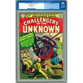 Challengers of the Unknown #49 CGC 3.0 (OW) *0103702023*