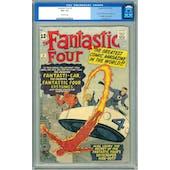 Fantastic Four #3 CGC 4.5 (OW) *0103972002*
