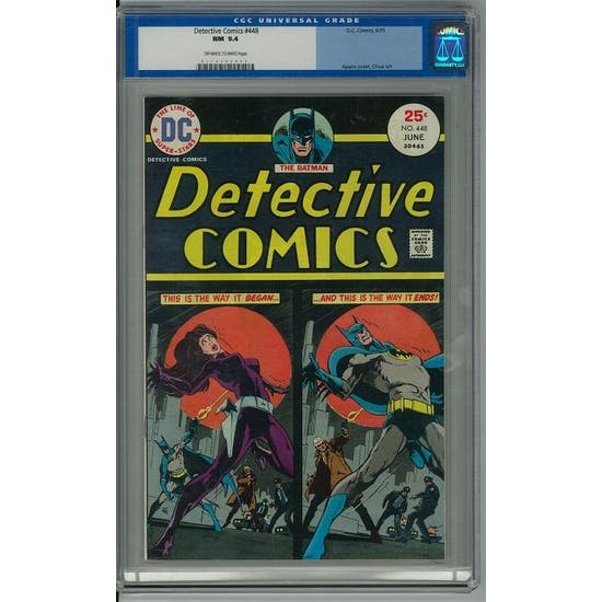 Detective Comics #448 CGC 9.4 (OW-W) *0112342003*