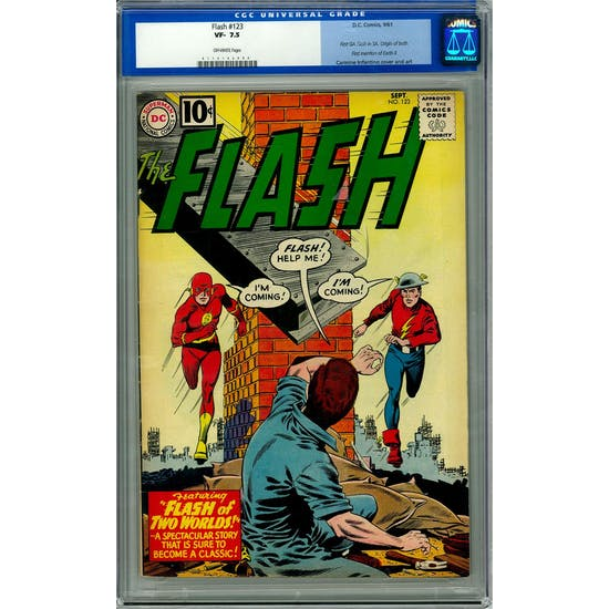 Flash #123 CGC 7.5 (OW) *0116162004*