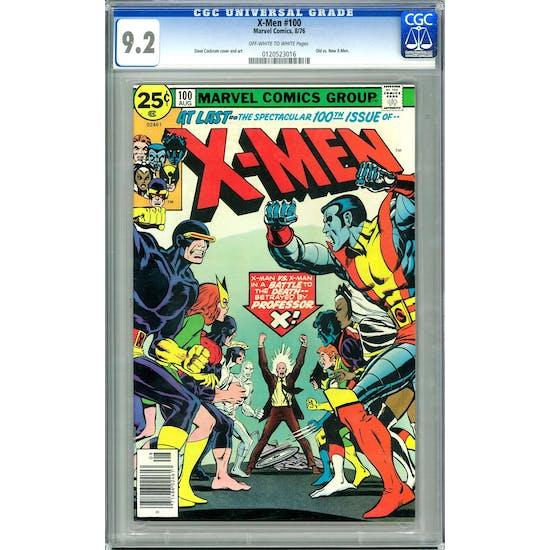 X-Men #100 CGC 9.2 (OW-W) *0120523016*