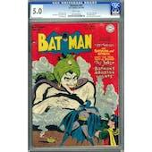Batman #49 CGC 5.0 (W) *0121629026*