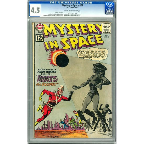 Mystery In Space #78 CGC 4.5 (C-OW) *0122302017*