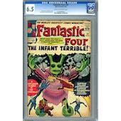 Fantastic Four #24 CGC 6.5 (C-OW) *0134280002*