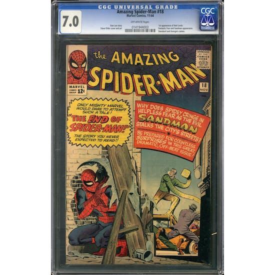 Amazing Spider-Man #18 CGC 7.0 (OW) *0141944003*