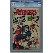 Avengers #4 CGC 4.5 (C-OW) *0144980007*