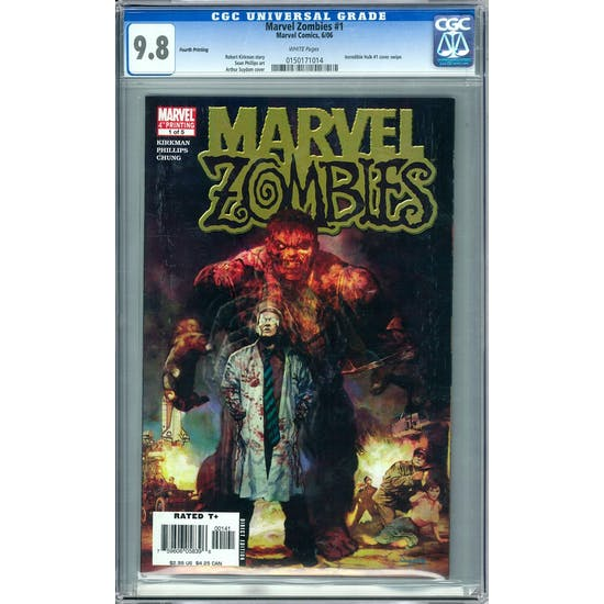 Marvel Zombies #1 CGC 9.8 (W) *0150171014*