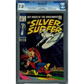 Silver Surfer #4 CGC 7.0 (C-OW) *0153769001*
