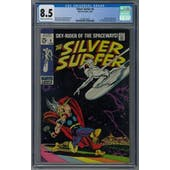 Silver Surfer #4 CGC 8.5 (C-OW) *0156812004*